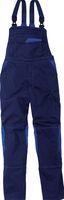 KÜBLER-Workwear-Arbeits-Berufs-Latz-Hose, MG 320, dunkelblau/kornb
