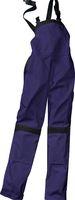 KÜBLER-Workwear-Damen-Arbeits-Berufs-Latz-Hose Inno Plus Dress, MG 300, marine/schwarz