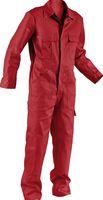 KÜBLER-Workwear-Rallye-Kombi, Arbeits-Berufs-Overall Quality Dress, BW 285, mittelrot