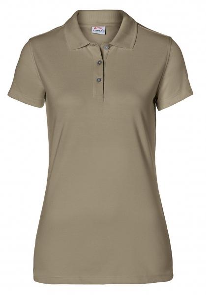 KÜBLER-Workwear-Damen-Poloshirts, 200 g/m², sandbraun