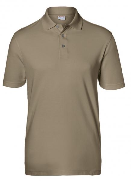 KÜBLER-Workwear-Poloshirts, 200 g/m², sandbraun