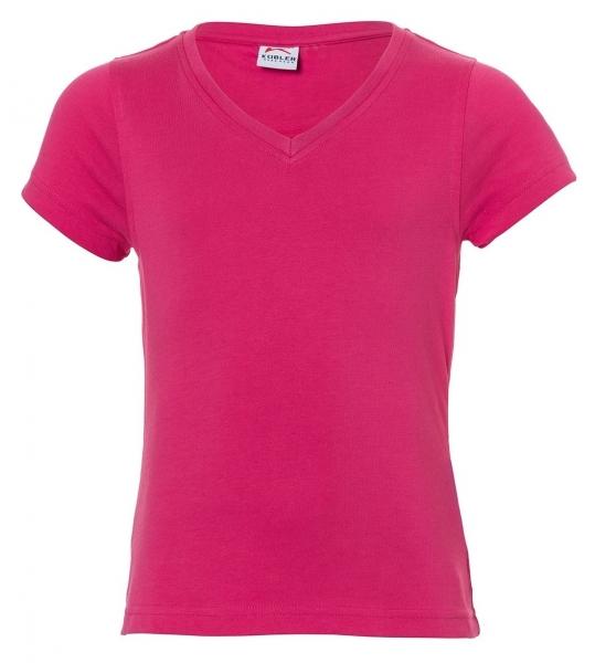 KÜBLER-Workwear-Kinder-T-Shirts, 160 g/m², pink