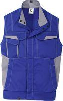 KÜBLER-Workwear-Arbeits-Berufs-Weste Image Dress New Design, MG 320, kornblau/mittelgrau