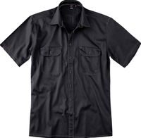 KÜBLER-Workwear-Shirt Dress, Arbeits-Berufs-Hemd, MG 220, schwarz