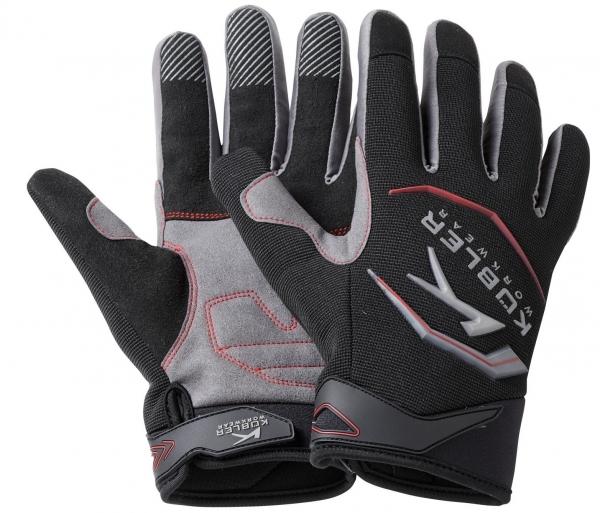KÜBLER--Arbeits-Handschuhe, Neopren, ca. 300g/m², schwarz/mittelgrau