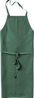 KÜBLER-Workwear-Baumwoll-Arbeits-Schutz-Schürze, Classic-Dress, 230 g/m², moosgrün