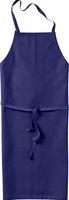 KÜBLER-Workwear-Baumwoll-Arbeits-Schutz-Schürze, Classic-Dress, 260 g/m², dunkelblau