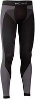 KÜBLER-Workwear-Funktions-Unterhose, ca. 155g/m², schwarz/anthrazit
