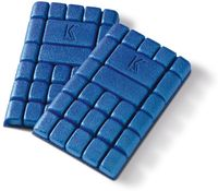 KÜBLER-Workwear-Kniepolster, 1 Paar, blau