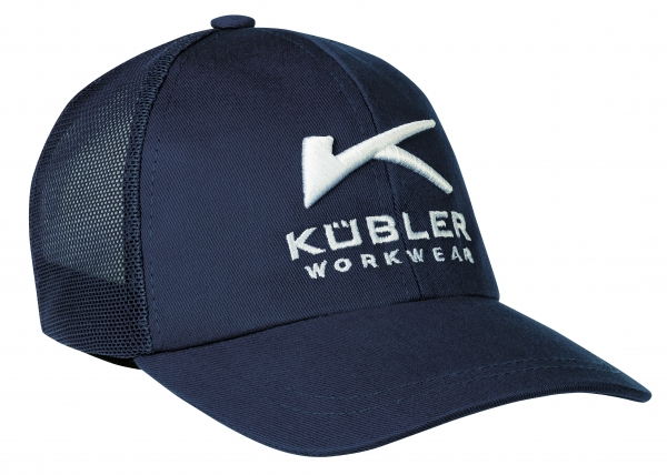 KÜBLER-Trucker Cap mit Stickerei, marine