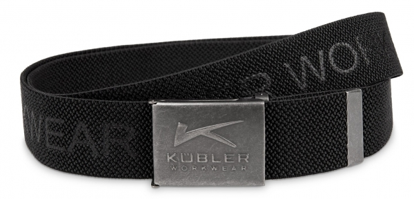 KÜBLER-Stretchgürtel mit Flaschenöffner, schwarz