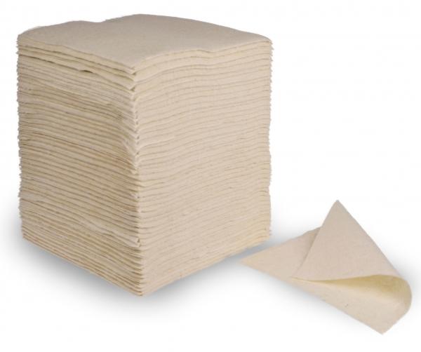 ZVG-zetPutz-Reinigungs-Putz-Tücher, Vliestücher, weiß, VE: 415 Tücher/Sack