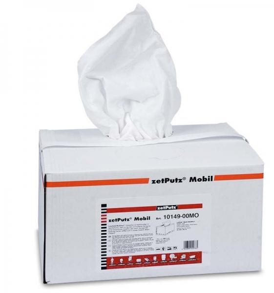 ZVG-zetPutz-Reinigungs-Putz-Tücher, Multitex-Tücher, weiß, in Wi Box, VE: 6 Boxen á 120 Tücher