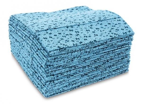 ZVG-zetPutz-Reinigungs-Putz-Tücher, Polytex Naßwisch-Tücher, blau, VE: 420 Tücher (12x35)