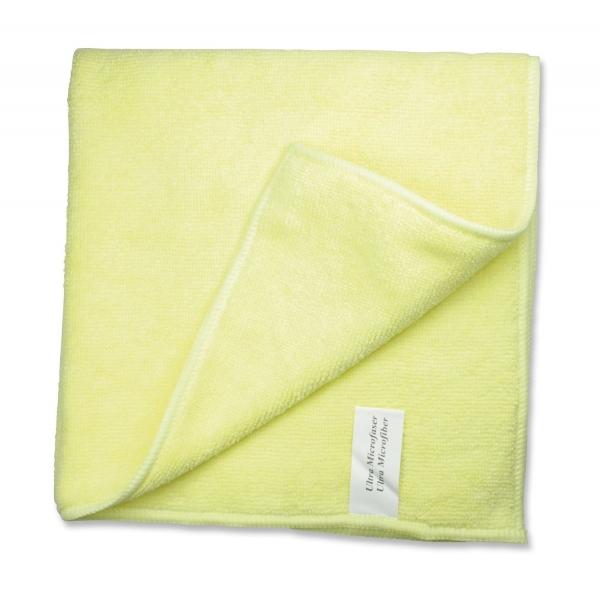 ZVG-zetPutz-Microfaser-Putz-Tücher, Mikrofasertuch Praktitex, gelb, VE: 200 Stück (20x10)