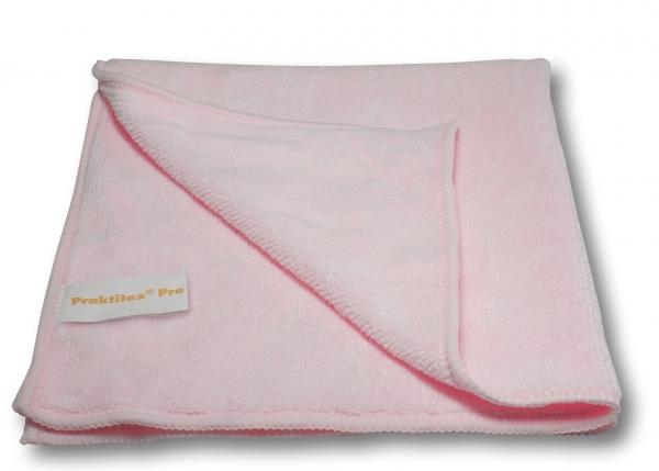 ZVG-zetPutz-Microfaser-Putz-Tücher, Mikrofasertuch Praktitex, rosa, VE: 200 Stück (20x10)
