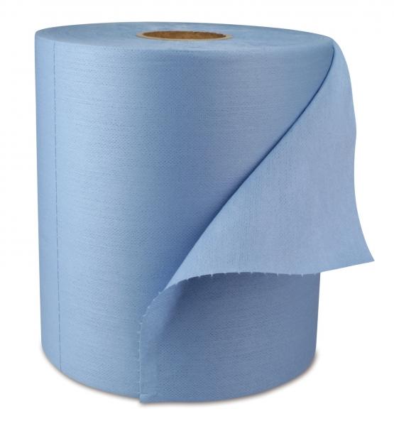 ZVG-zetPutz-Putz-Tücher / Putztuch-Rollen, Multitex-Rolle Ultra z 60, blau