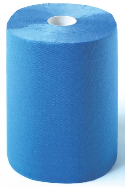 ZVG-zetPutz-Putz-Tücher / Putztuch-Rollen, Multiclean plus Putztuchrolle, blau, 2-lagig, ca. 500 Abrisse, VE: 2 Ro.