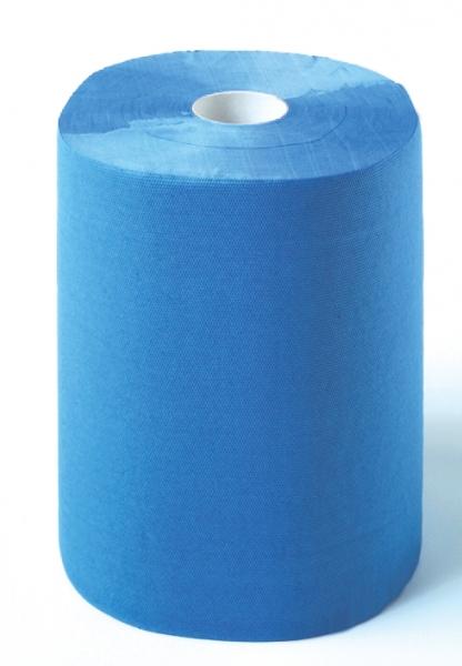 ZVG-zetPutz-Putz-Tücher / Putztuch-Rollen, Multiclean plus Rolle, blau, 2-lagig, ca. 500 Abrisse, VE: 2 Ro.