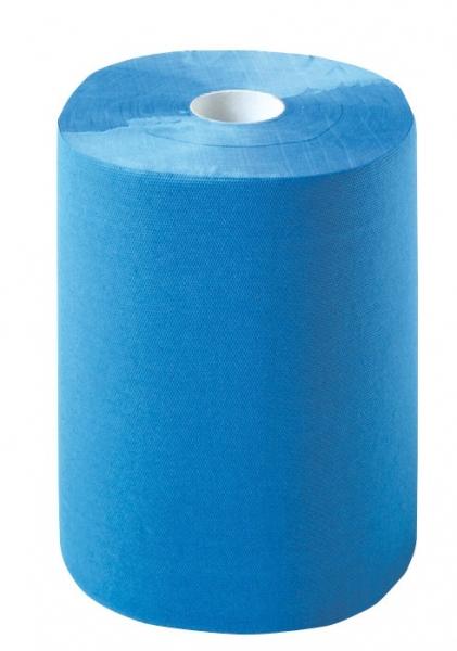ZVG-zetPutz-Putz-Tücher / Putztuch-Rollen, Multiclean Putztuchrolle, blau, 2-lagig, ca. 1.000 Abrisse,  2 Rollen