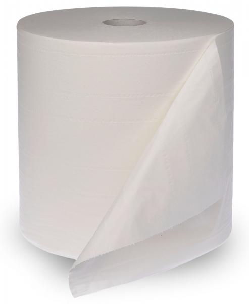 ZVG-zetPutz-Putz-Tücher / Putztuch-Rollen, Multisoft Poliertuchrolle, weiß, 4-lagig, ca. 1.000 Abrisse, VE: 1 Ro.