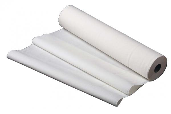 ZVG-zetMedica-Hygiene, Ärzterolle, Papier-Liegen-Abdeckungen-Auflagen, weiß, Tissue 3-lagig, ca. 131 Abrisse á 38 cm, VE: 6 Rollen