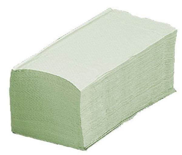 ZVG-zetPutz-Papier-Falt-Handtücher, grün,  VE: 5.000 Tücher (20x250)