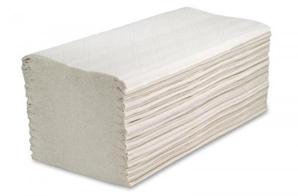 ZVG-zetPutz-Papier-Falt-Handtücher, hochweiß, 2-lagig, VE: 3.200 Tücher (20x160)