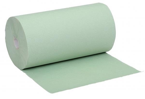 ZVG-zetPutz-Papier-Handtuch-Rolle, grün, 1-lagig, VE: 12 Ro.