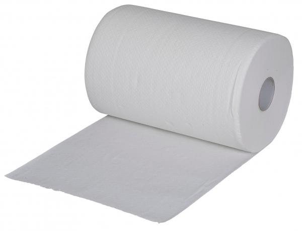 ZVG-zetPutz-Papier-Handtuch-Rolle, weiß, 3-lagig, VE: 10 Ro.