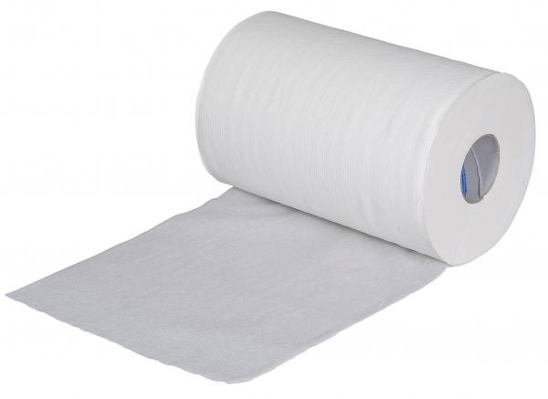 ZVG-zetPutz-Papier-Handtuch-Rolle, weiß, 1-lagig, VE: 12 Ro.
