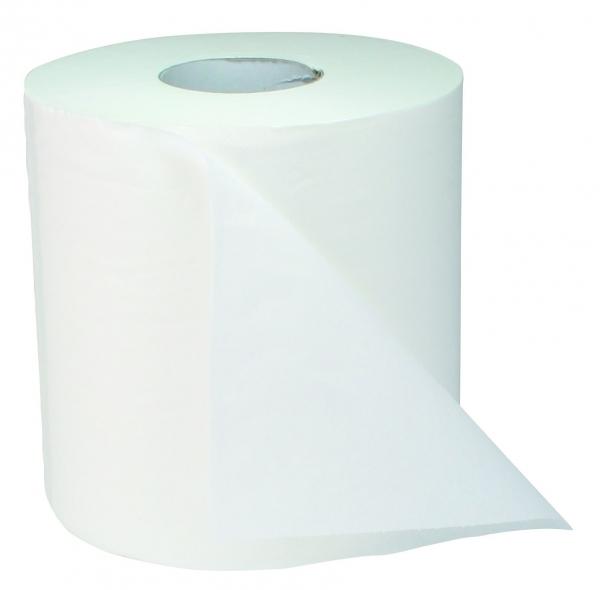 ZVG-zetPutz-Papier-Handtuch-Rolle, weiß, 1-lagig, VE: 6 Ro.