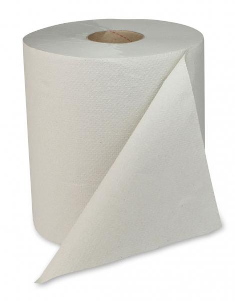 ZVG-zetPutz-Papier-Handtuch-Rolle, natur, 1-lagig, VE: 6 Ro.