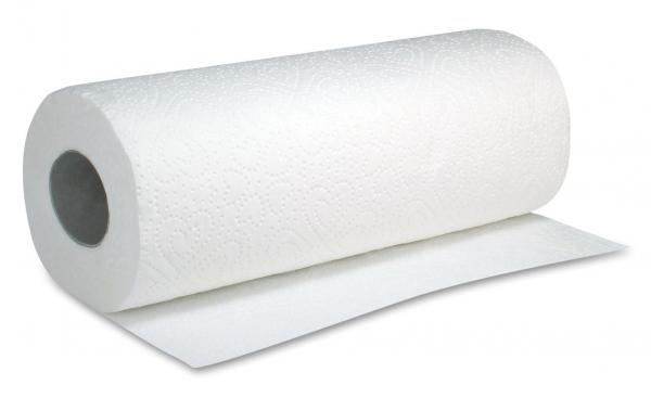 ZVG-zetPutz-Papier-Küchen-Rolle, Haushaltsrolle, Tissue 3-lagig, ca. 51 Abrisse, VE: 32 Ro.