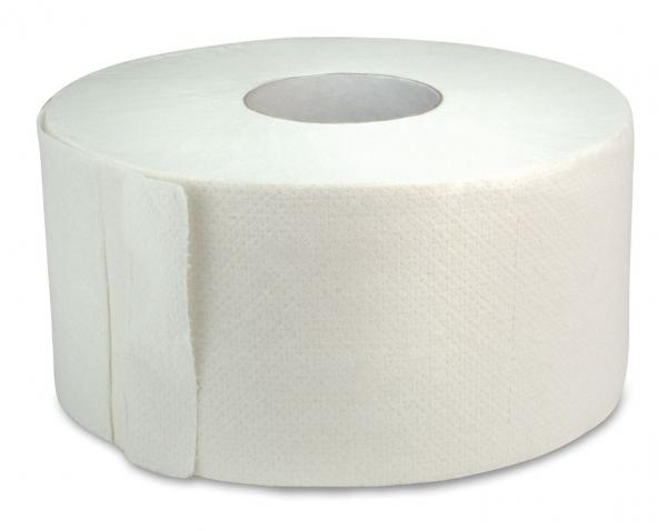 ZVG-zetPutz-Gigant-Toilettenpapier, Tissue, 2-lagig, weiß, foriert, VE: 12 Ro.