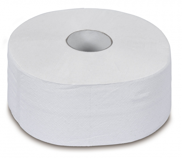 ZVG-zetPutz-Gigant-Toilettenpapier, Tissue, 2-lagig, weiß, foriert, VE: 6 Ro.