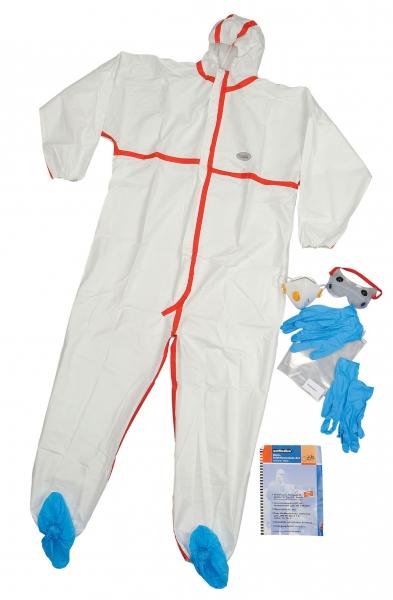 zetDress Einweg-Bekleidung, Einmal-Infektions-Schutz-Set, im Wiederverschlußbeutel, VE: 20 Sets