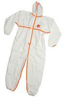 zetDress-Einweg-Bekleidung, Einmal-Schutz-Overall, Secutex, SL, weiß, VE: 50 Stück (einzeln v.)