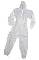 zetDress-Einweg-Bekleidung, Einmal-Schutz-Overall, Z2, Monotex,  aus PP, weiß, VE: 50 Stück (einzeln v.)