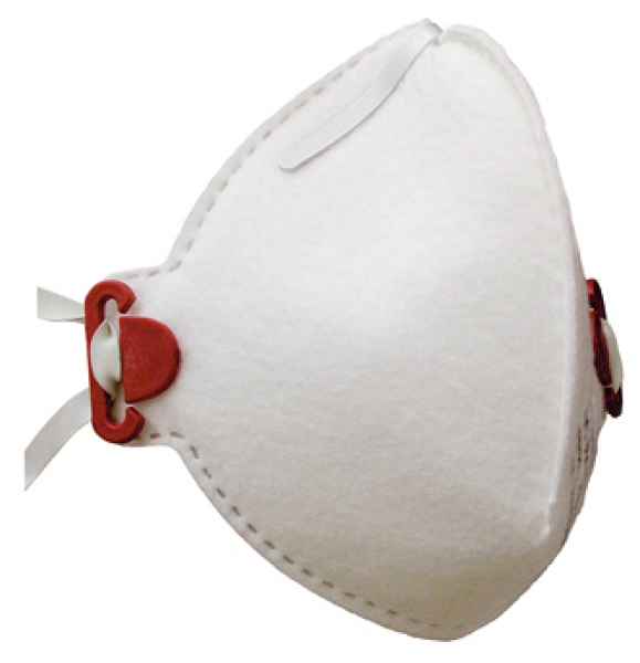 zetMask-PSA-Atem-Schutz, Einweg-Fein-Staub-Filter-Maske, FFP2D, EN 149:2001, VE: 200 St. (10 x 20 St.)