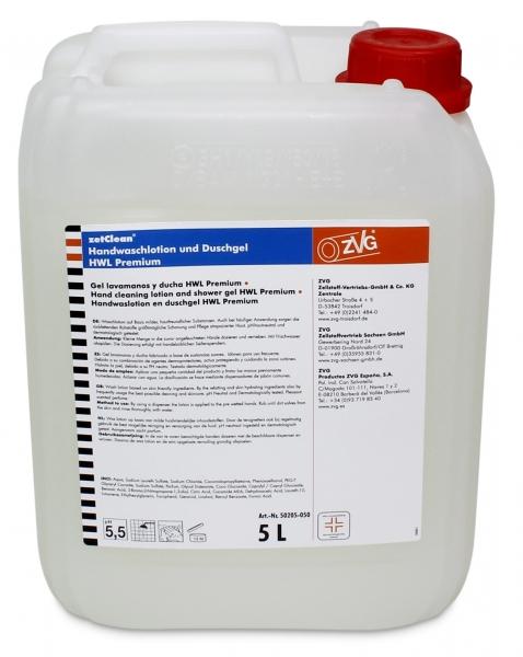 ZVG-zetClean-Hand-/Hände-Reiniger, Handwaschlotion Premium, VE: 4 Kanister á 5 Liter