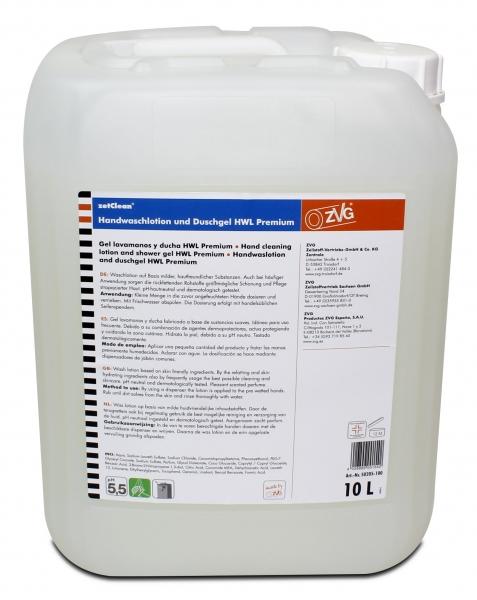 ZVG-zetClean-Hand-/Hände-Reiniger, Handwaschlotion Premium, VE: 10-l-Kanister