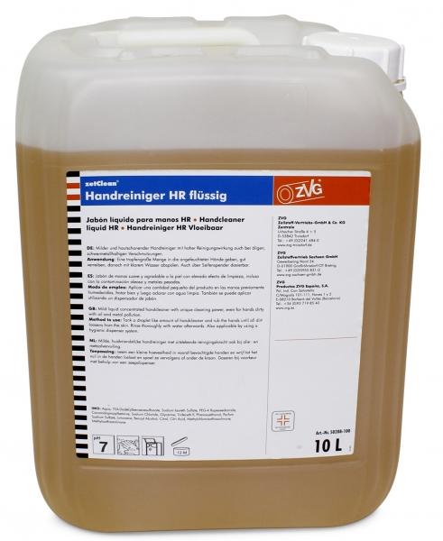ZVG-zetClean-Hand-/Hände-Reiniger, Handreiniger flüssig, VE: 10-l-Kanister