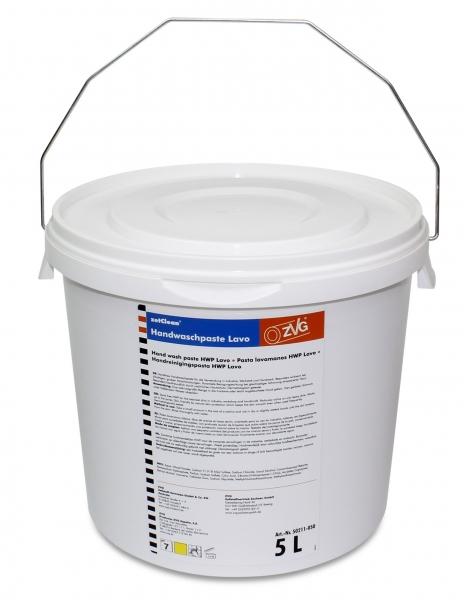 ZVG-zetClean-Hand-/Hände-Reiniger, Handwaschpaste LAVO, VE: 1 Eimer á 5 Liter