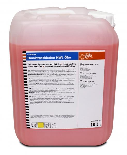 ZVG-zetClean-Hand-/Hände-Reiniger, Handwaschlotion Öko, VE: 10-l-Kanister