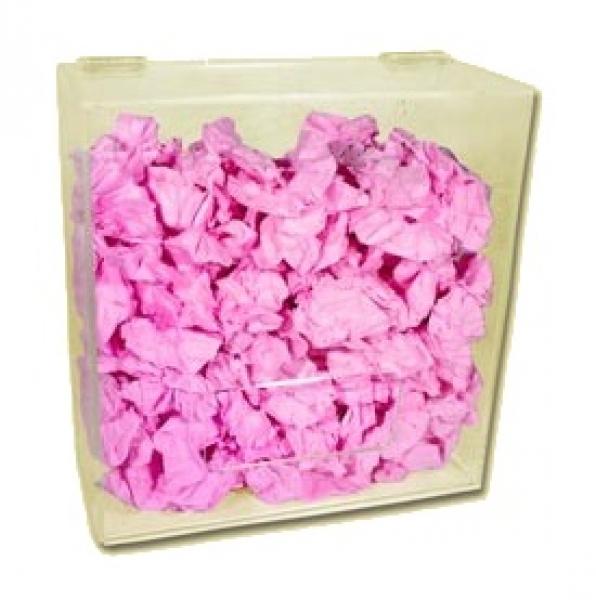 zetDress-Universal-Spenderbox aus Acryl, für Einweg-Einmal-Handschuhe, / klein, VE = 1 Stück