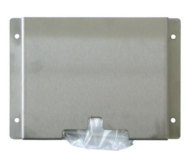 zetDress-Edelstahl-Wandhalterung für Einweg-Einmal-PE-Handschuhe