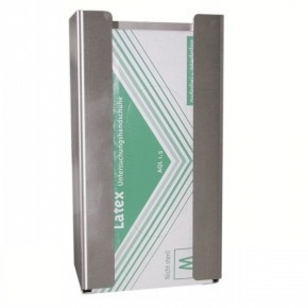 ZVG-zetMedica-Hygiene, Edelstahl-Wandhalterung für Latex-Handschuhe, VE = 1 Stück
