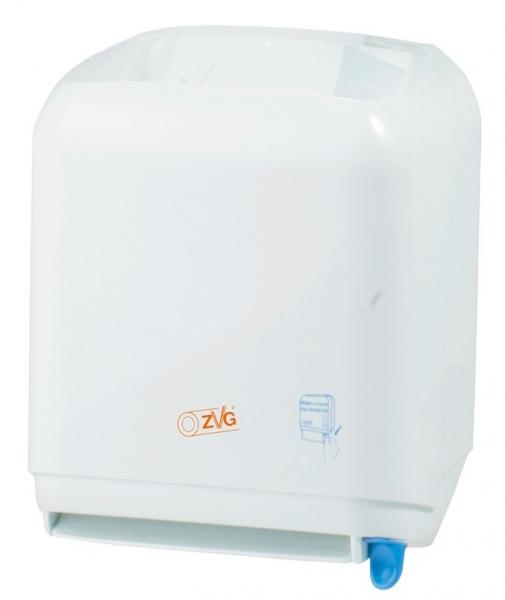 ZVG-zetPutz-Rollen-Handtuch-Spender in weiß, Standard, VE: 1 Stück