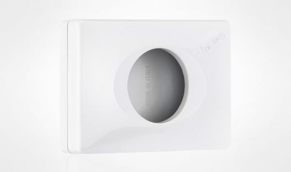 ZVG-zetPutz-Spender für Hygienebeutel Papier, weiß aus Kunststoff, VE: 12 Stück